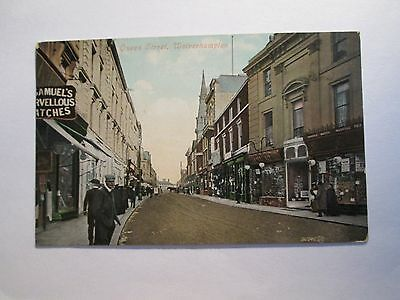 Postcard of Queen Street, Wolverhampton (posted 1907)