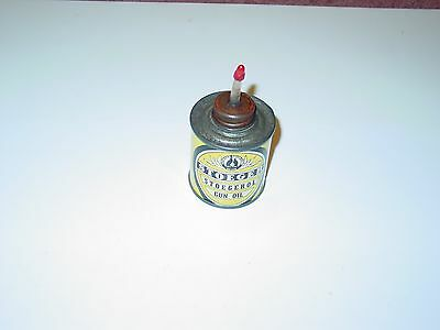 Vintage Stoeger Stoegerol Gun Oil Tin Can Sporting Goods Advertising Empty