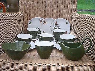 Midwinter  John Russell Riverside 6 cups/5 saucers/3 side plates/jug/sugar bowl