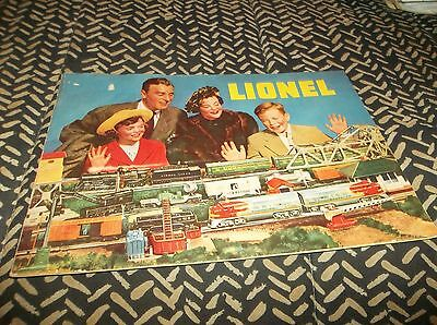 Excellent Vtg 1949 Lionel Train Toy Catalog - 40 Color Illustrated Pages