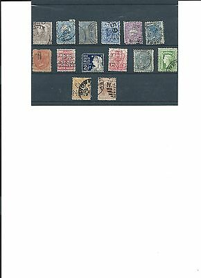 NEW SOUTH WALES AUSTRALIA USED STAMPS 1880s TO 1890s