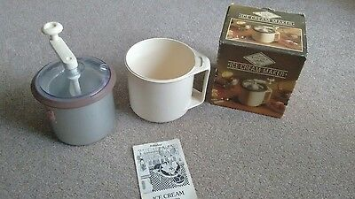 Vintage St. Michael Kitchen Selection Ice Cream Maker Boxed: Hand Made Ice Cream