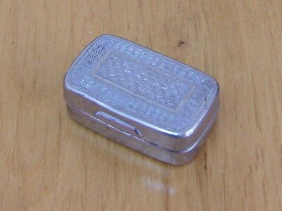 Vintage Stainless Steel Snuff Box (Austrian)