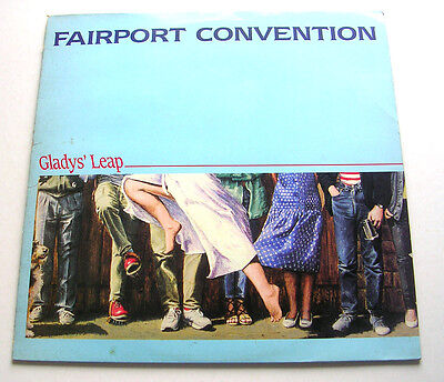 Fairport Convention 'gladys' Leap' 1985 Stereo Lp Ex-/vg