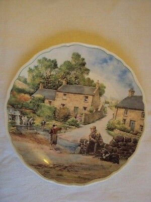 Royal Doulton Plate / Village Life / The Young Fisherman