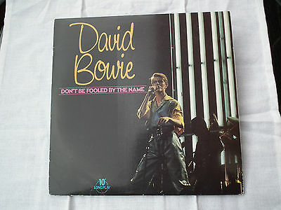 "David  Bowie - Dont Be Fooled By The Name. 10"" Vinyl Ep."