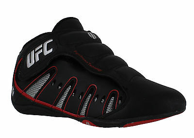 Mens/Boys UFC MMA Black Sports Leisure Kick Boxing Mid Boots Trainers