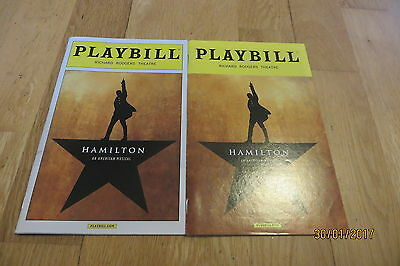 Hamilton In New York x 2 (different casts)