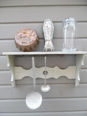 Petite Vintage French Painted Shelf  Rustic And So Shabby Chic !