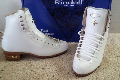 Riedell #375 Gold Star Classic skate boots sizes 3 1/2,  5 1/2B or 6B   NEW!