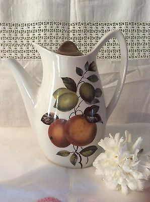 Vintage Midwinter Stylecraft Coffee Pot Fashion Shape Oranges & Lemons Design