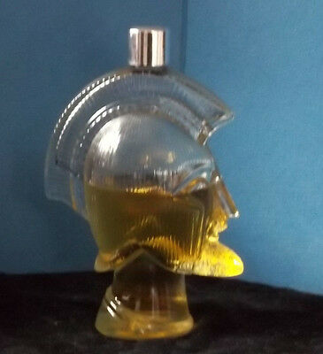 Vintage Avon soldier decanter with Tribute cologne