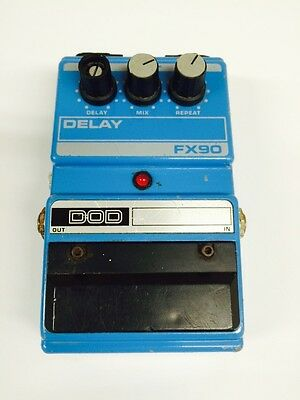 Dod Fx90 Analog Delay Guitar Effect Pedal Series 2 1990