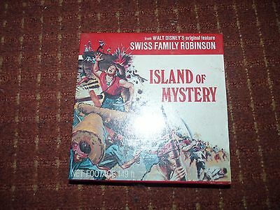Super 8Mm Film Island Of Mystery 200Ft Colour Sound Sealed New