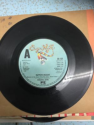 sugarhill gang rapppers delight 45rpm