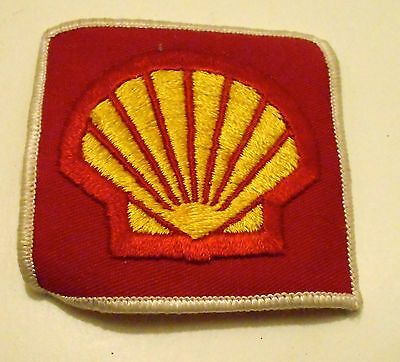 "Shell Gas Patch Embroidered Herald Oil  3"" Racing"