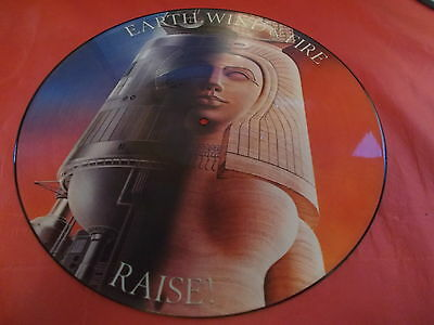 Earth Wind And Fire 12 Picture Disc Raise Cbs 1981