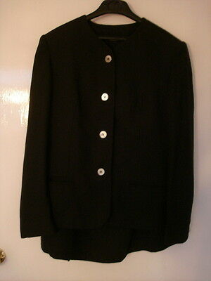 Retro Laura Ashley Suit- Size 12 - Excellent Condition - Pure New Wool