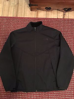 The North Face Men's Black  Zip-Up Jacket Size XL