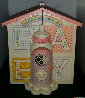 Vintage mlp My Little Pony Baby House From 1980's