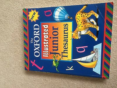 The Oxford Illustraded Junior Thesaurus Published 1999