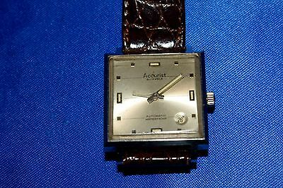 ACCURIST. Vintage Gents watch. Automatic. 21 Jewels. Waterproof.  1970s.