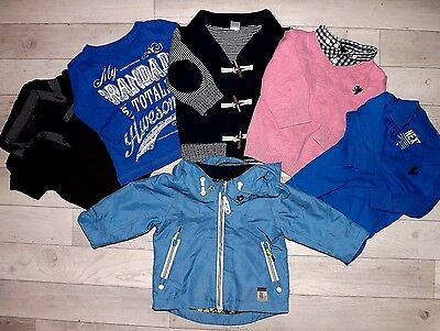 100% Next Tops Jumpers Jacket Small Spring Bundle For Boys 3-6 M