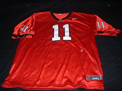 Unknown G ? NFL USA American Football Large Mans Nike Made No11 Jersey