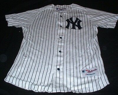 NY New York Yankees MLB USA United States Baseball Large Mans Majestic Made Top