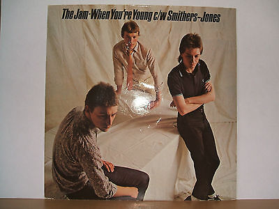 """THE JAM - When Your Young 7"""" P/S 1979 Polydor POSP 69"""