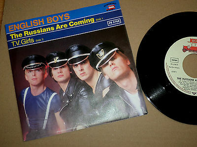 """7"""" English Boys - The Russians Are Coming"""