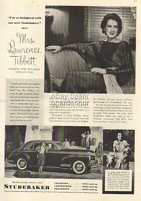 1941 Studebaker Champion~Commander~President 40s Car/Auto Photo South Bend IN Ad