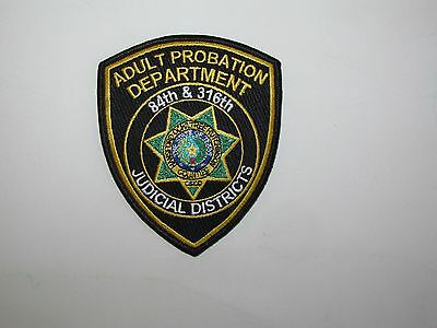 Texas State Hutchinson Hansford Ochiltree Adult Probation Police Patch