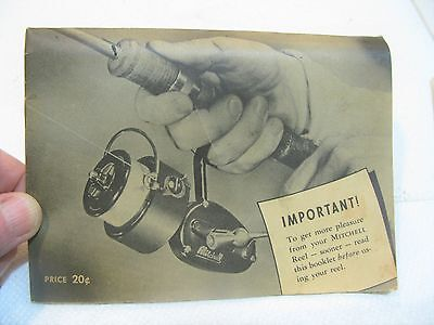 PRE Garcia Mitchell 300 Reel MANUAL SCHEMATIC COLLECTOR USED FRANCE ORIGINAL