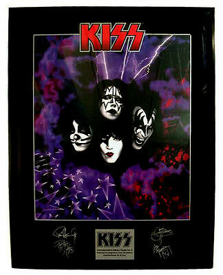 KISS LOT FRAMED POSTER Commerative SET of 5!