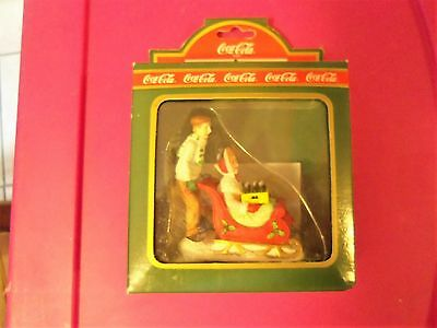 COCA COLA TOWN SQUARE COLLECTION ~ SLEDDERS  # 64325  NRFB  c 1994