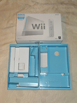 Nintendo Wii console Wii Sports pack replacement empty box only