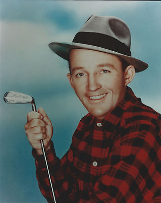 Bing Crosby 8 X 10 Photo With Ultra Pro Toploader