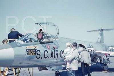 174E Original Slide,  Lockheed F-104A Starfighter S.C Air Guard Airshow 1960