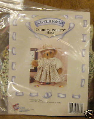 Tender Heart Treasures 82158 COUNTRY POSIE'S OUTFIT New from our Retail Store