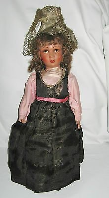 MADE IN FRANCE ANTIQUE CLELIA POUPEES DOLL - PARIS - original clothing and tag
