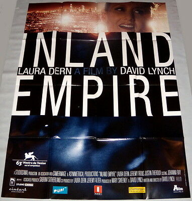 iNLAND EMPiRE David Lynch Laura Dern Jeremy Irons Theroux LARGE Belgian POSTER
