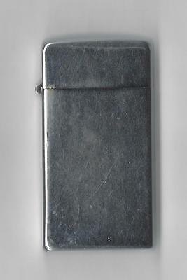 Vintage Scripto Butane Gas Lighter, Silver Color, Sparks well, Made is the USA