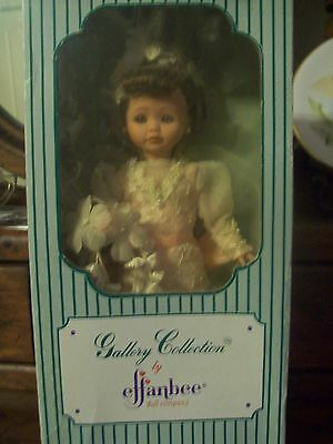 "EFFANBEE 12"" GALLERY COLLECTION DOLL featuring 'WEDDING DAY""  MV117 New in Box"