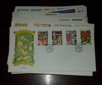 Jersey First Day Covers  - Select Individual Fdc First Day Cover