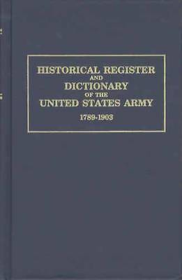 Commissioned Officers Register US Army Records 1789-up