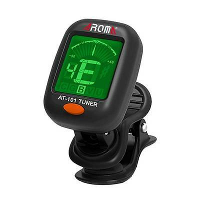 Durable Clip-on Guitar Tuner For Electronic Digital Chromatic Violin Ukulele LCD