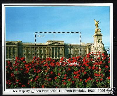 Gambia 1996 Queens 70th Birthday MS 2250 MNH