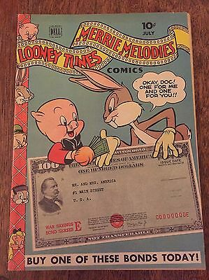 LOONEY TUNES AND MERRIE MELODIES #33 Dell 1944 Porky Pig