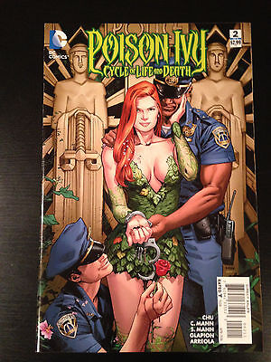 Poison Ivy Cycle Of Life And Death # 2 Near Mint Dc Comics Hot Issue